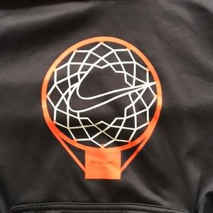 NIKE BASKETBALL THERMAFIT FIT YOUTH MEDIUM